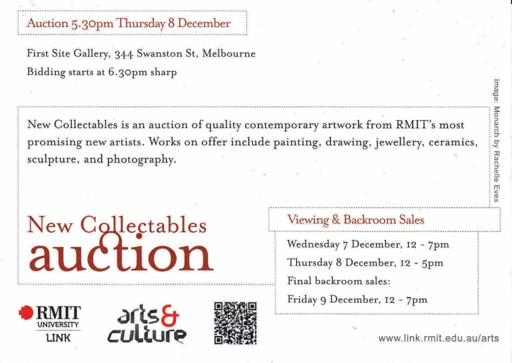 2011 Dec - Collectables Auction